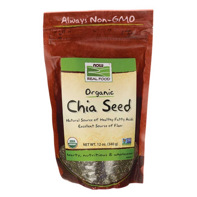 NOW Foods Organic Chia Seed - Black