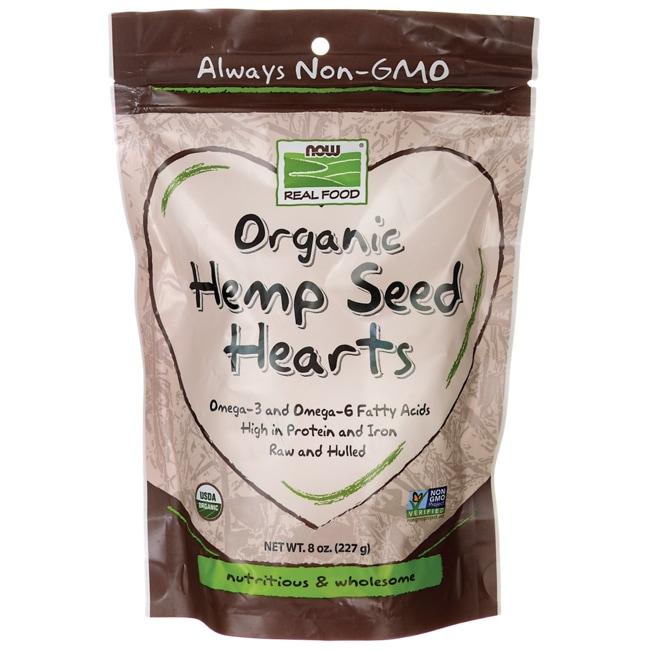 NOW Foods Organic Hemp Seed Hearts