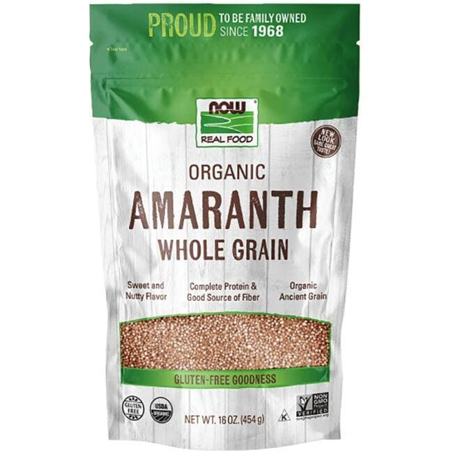 NOW FoodsLiving Now Organic Whole Grain Amaranth