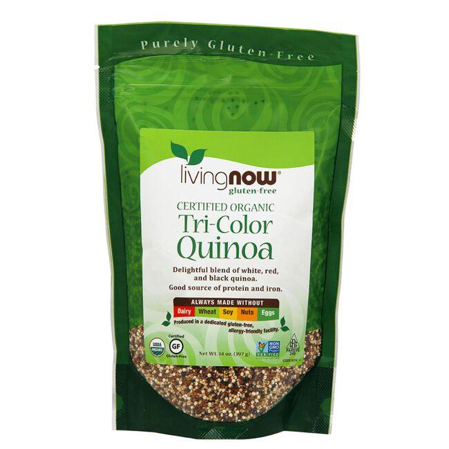 NOW FoodsLiving Now Certified Organic Tri-Color Quinoa