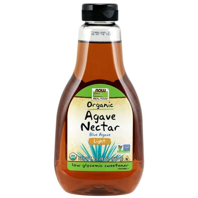 NOW Foods Organic Agave Nectar - Light