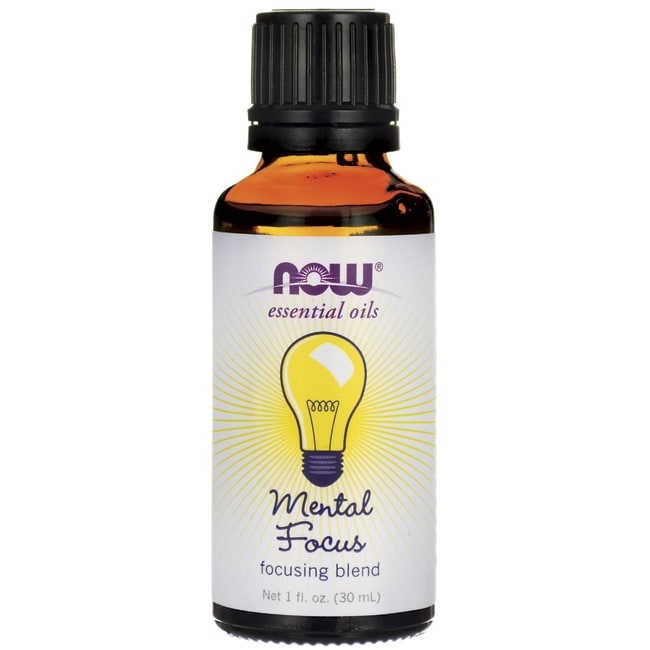 NOW FoodsEssential Oils Mental Focus Focusing Blend
