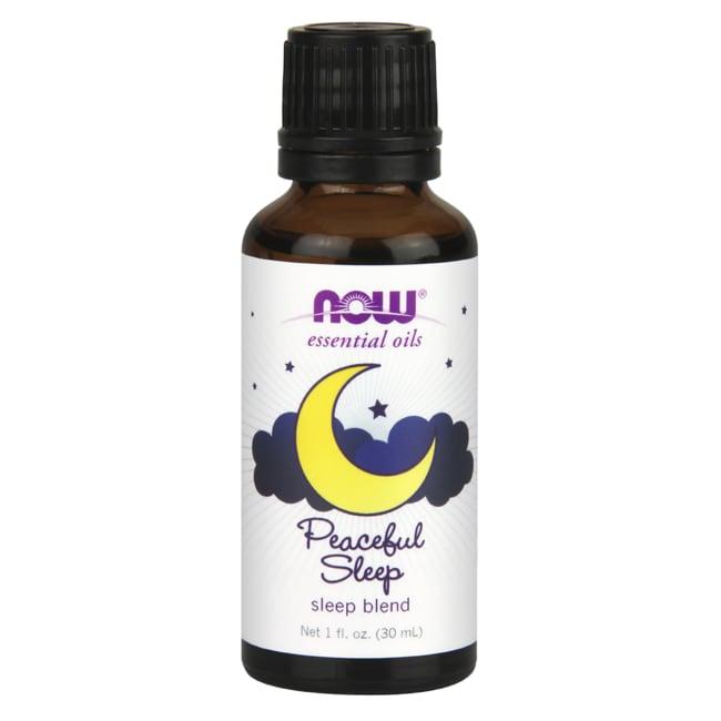 NOW Foods Essential Oils Peaceful Sleep Sleep Blend 1 Fl