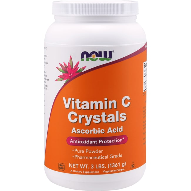 Now Foods Vitamin C Crystals 3 Lbs 1 361 G Pwdr Swanson 174