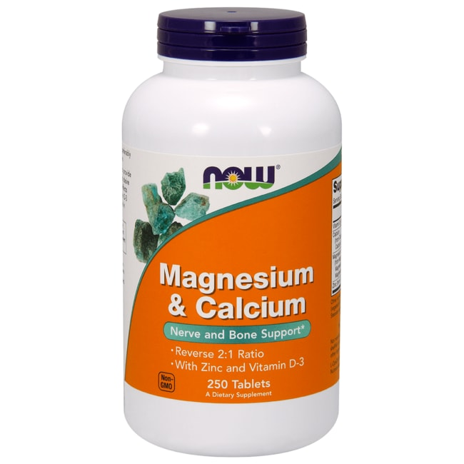 NOW FoodsMagnesium & Calcium