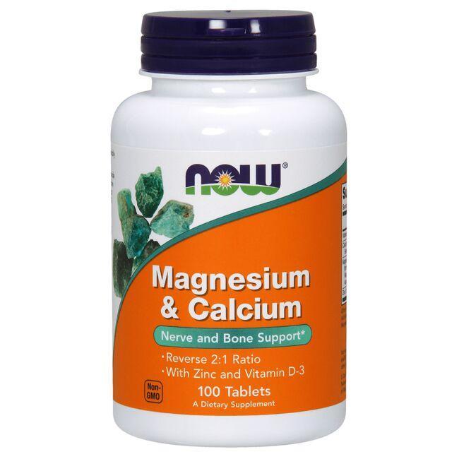 NOW FoodsMagnesium & Calcium