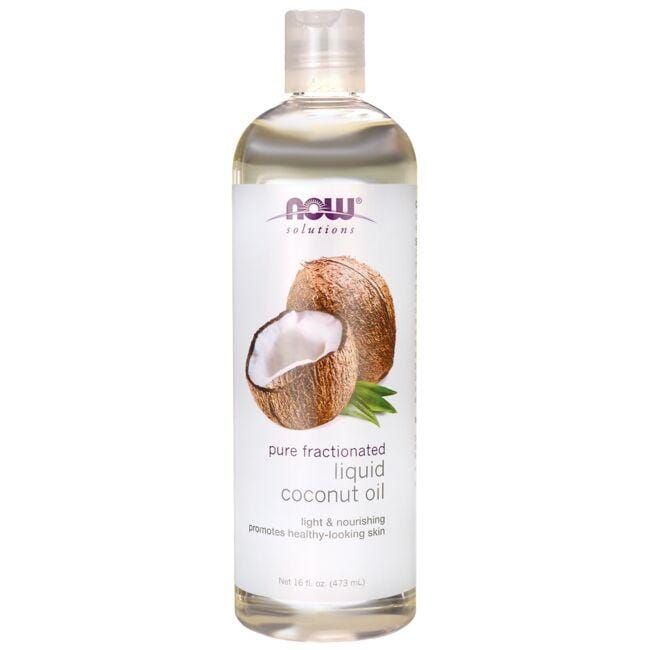 NOW Foods Pure Fractionated Liquid Coconut Oil