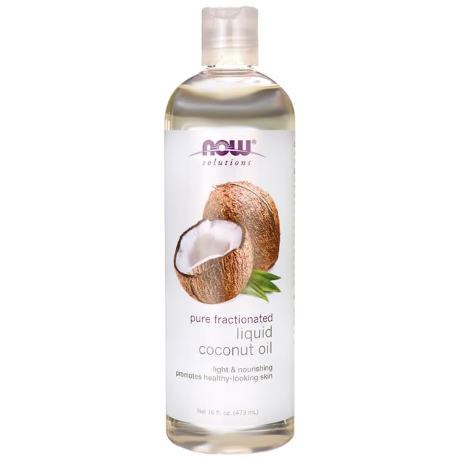 NOW FoodsPure Fractionated Liquid Coconut Oil