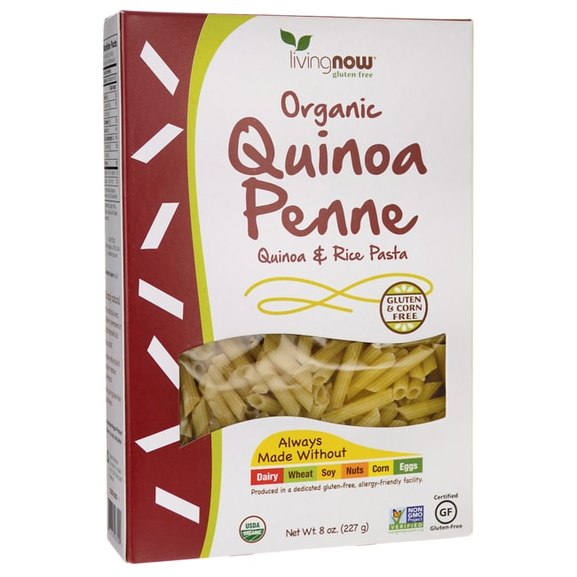 NOW FoodsOrganic Quinoa Penne