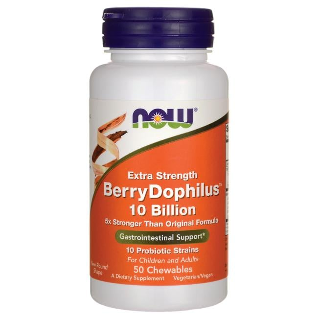 NOW Foods Extra Strength BerryDophilus