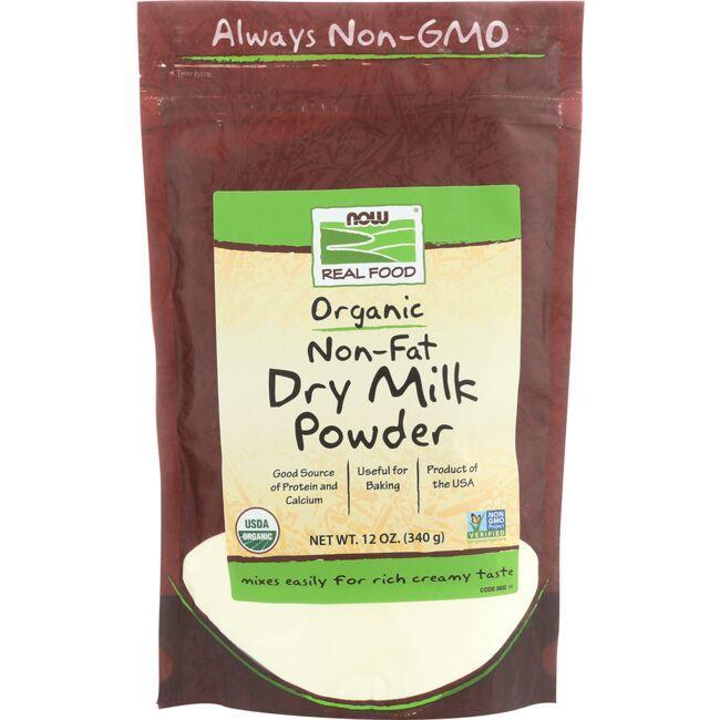 NOW FoodsOrganic Non-Fat Dry Milk Powder