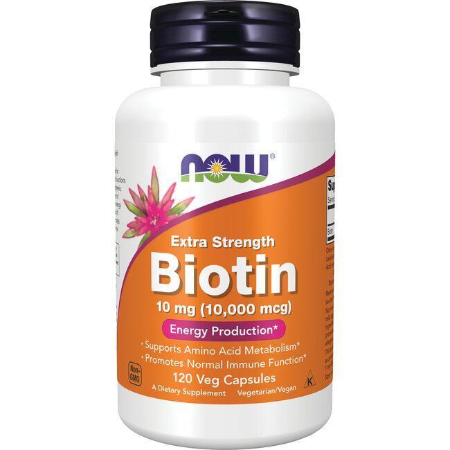 NOW FoodsExtra Strength Biotin