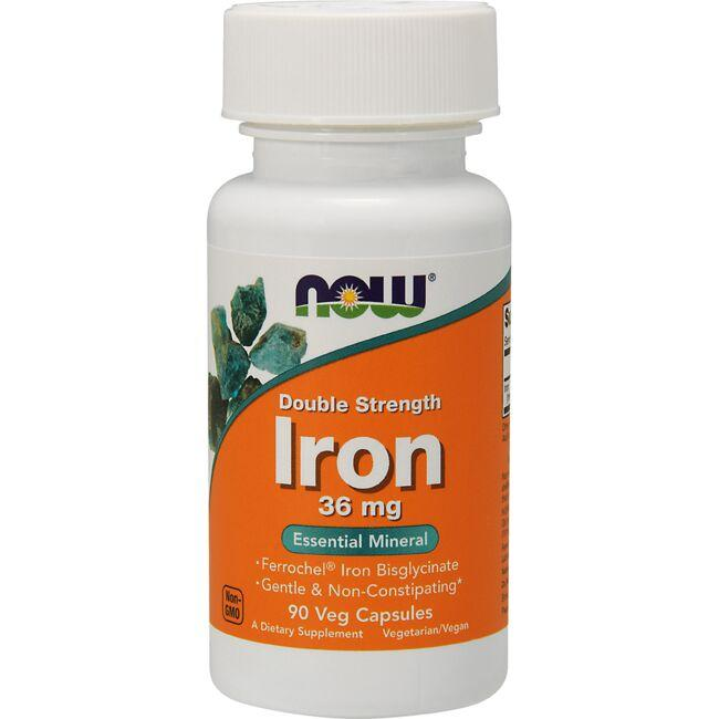 NOW Foods Double Strength Iron