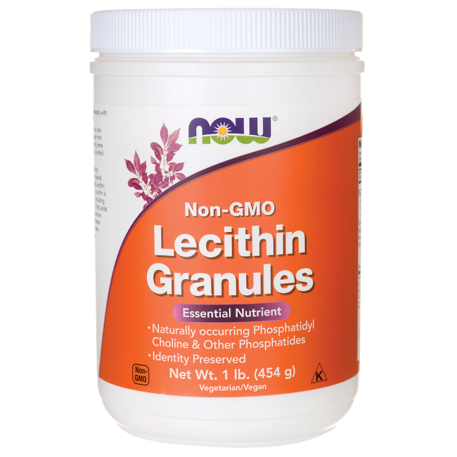 NOW Foods Lecithin Granules Non-GMO
