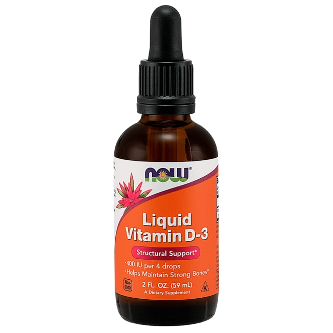 NOW FoodsLiquid Vitamin D-3