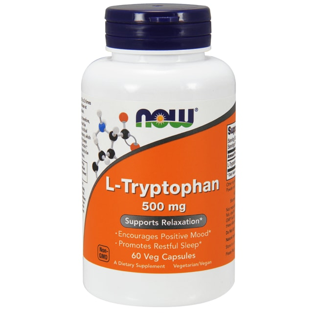 NOW Foods L-Tryptophan 500 mg