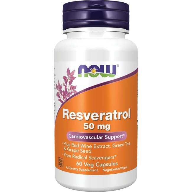 Now Foods Natural Resveratrol  Mg