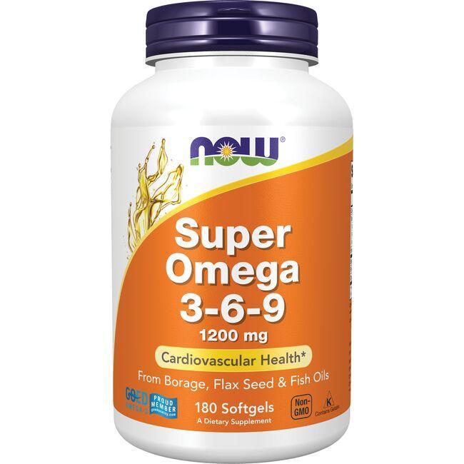 NOW FoodsSuper Omega 3-6-9
