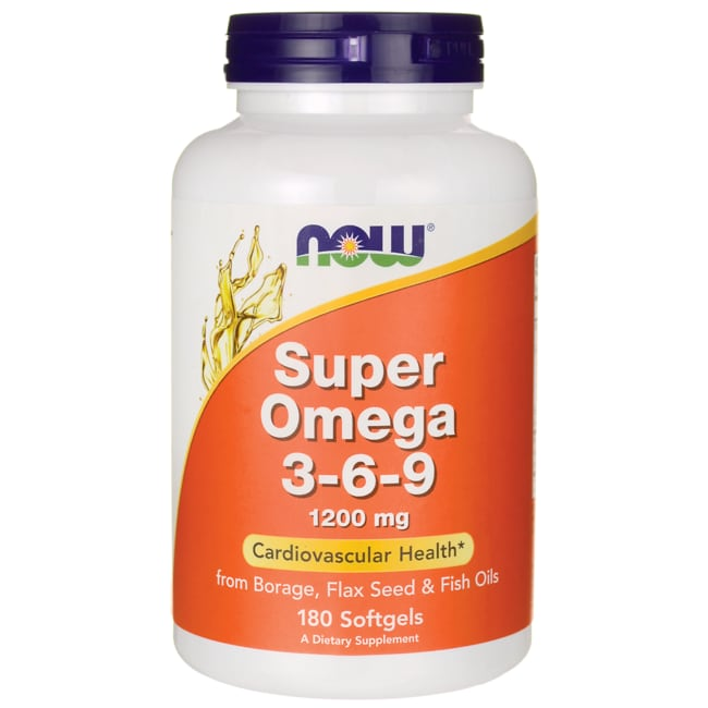 NOW FoodsSuper Omega 3-6-9