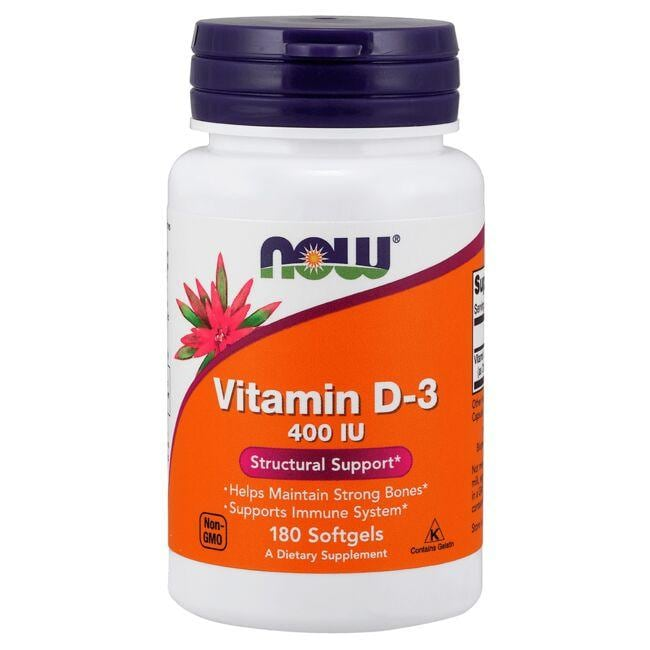 NOW FoodsVitamin D-3