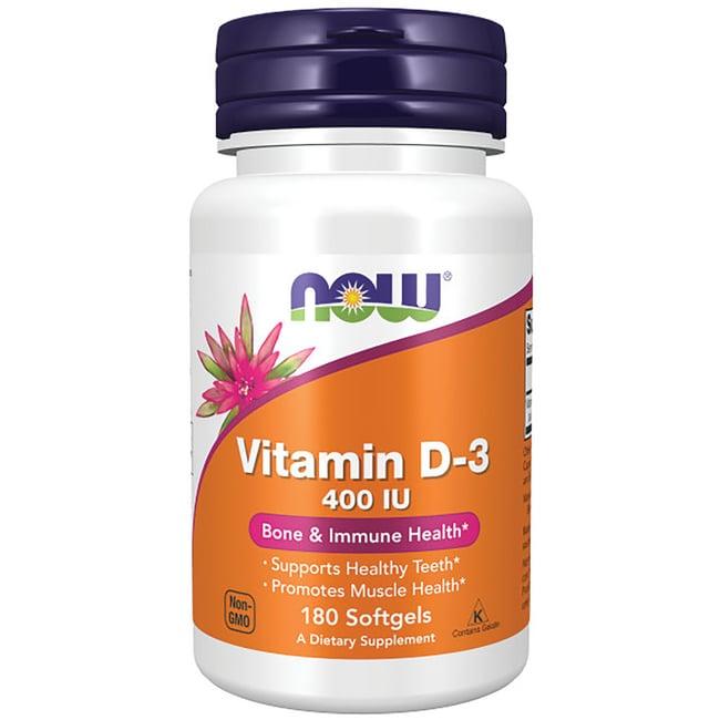 NOW Foods Vitamin D-3 400 IU
