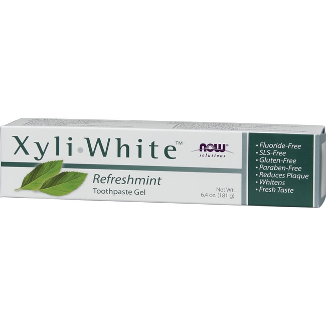 NOW Foods XyliWhite Toothpaste Gel - Refreshmint