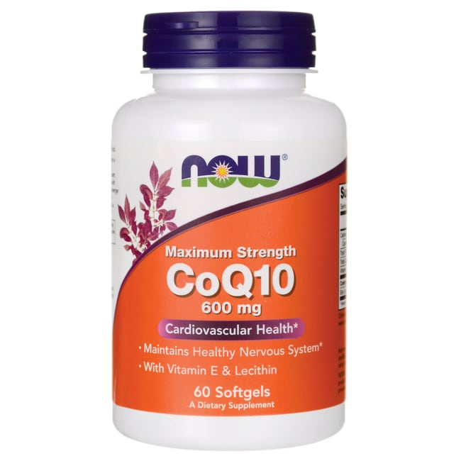 NOW Foods CoQ10 600 mg