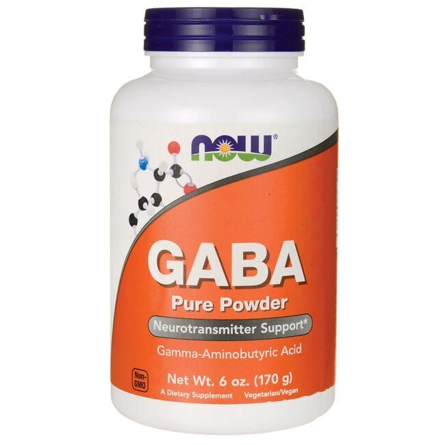 NOW Foods GABA Pure Powder