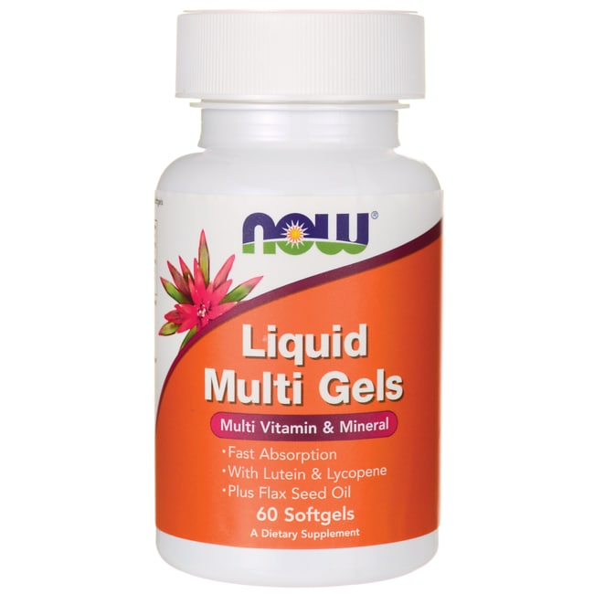 NOW FoodsLiquid Multi Gels
