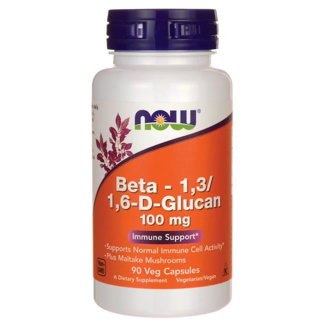 NOW FoodsBeta 1,3/1,6-D-Glucan