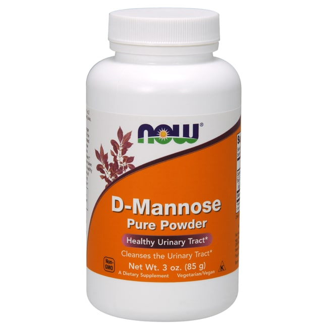 NOW Foods D-Mannose Pure Powder