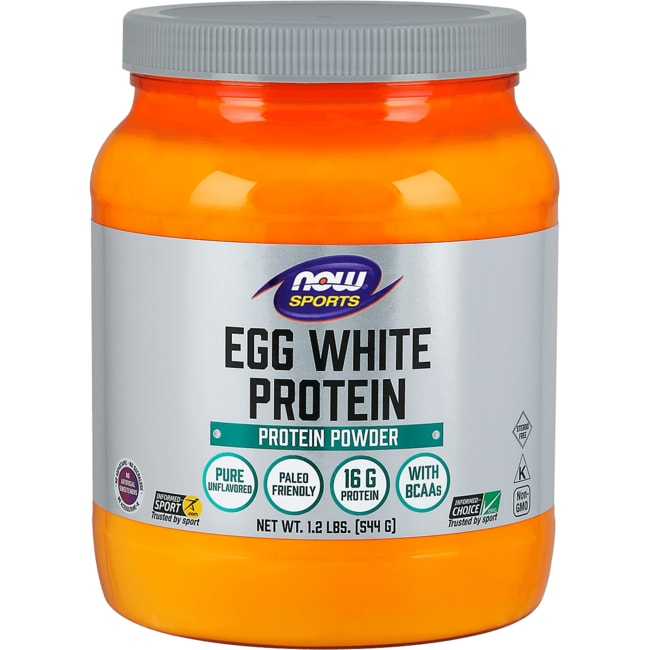 NOW FoodsEggwhite Protein Pure Powder