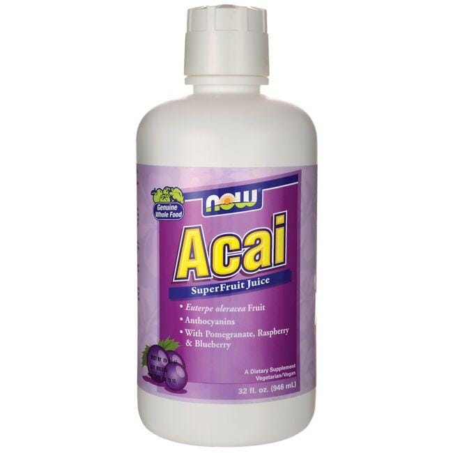 NOW Foods Acai SuperFruit Juice