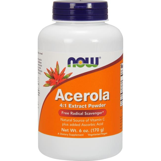 NOW Foods Acerola 4:1 Extract Powder
