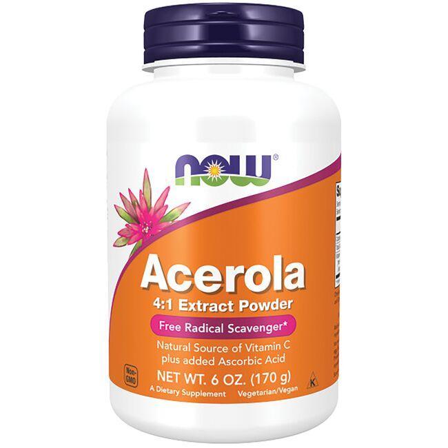 NOW FoodsAcerola 4:1 Extract Powder