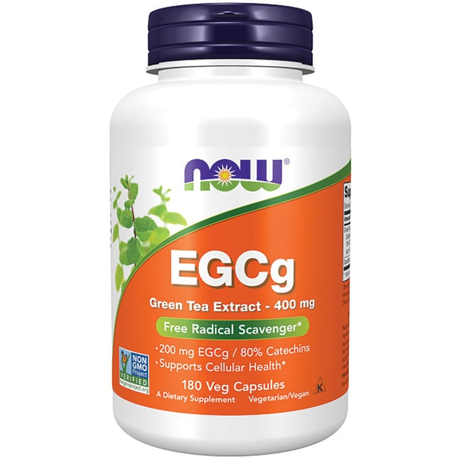 NOW FoodsEGCg Green Tea Extract 400 mg
