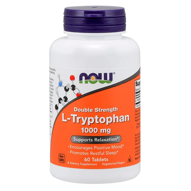 NOW FoodsL-Tryptophan 1000 mg