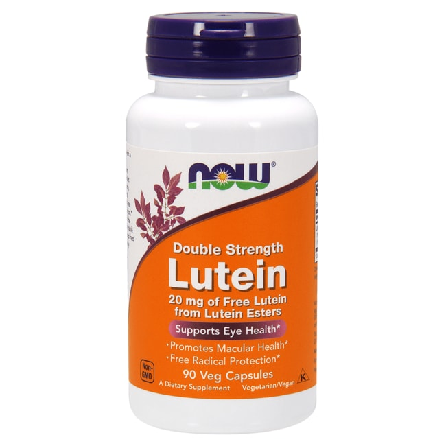 NOW Foods Double Strength Lutein