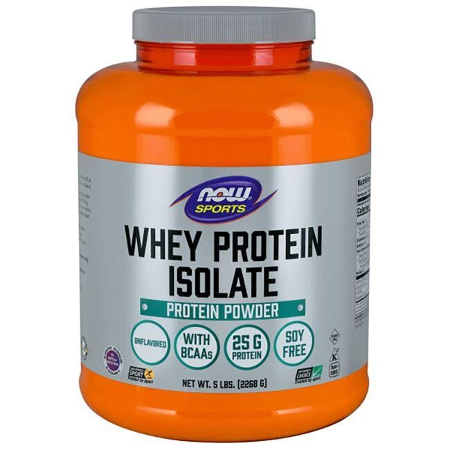 NOW Foods Whey Protein Isolate - Unflavored