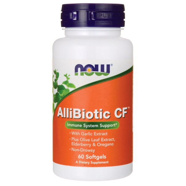 NOW FoodsAllibiotic CF