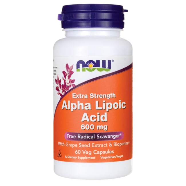 NOW Foods Alpha Lipoic Acid 600 mg