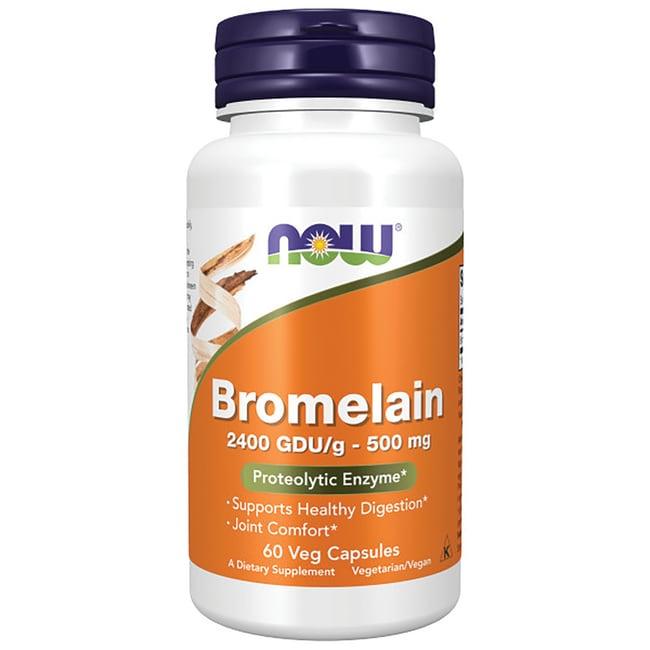 NOW Foods Bromelain 2400 GDU/g