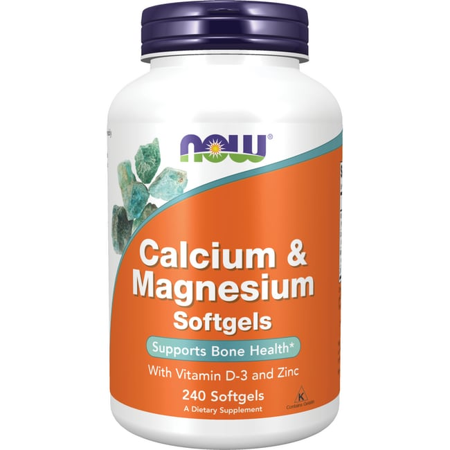 NOW Foods Calcium & Magnesium plus Vitamin D