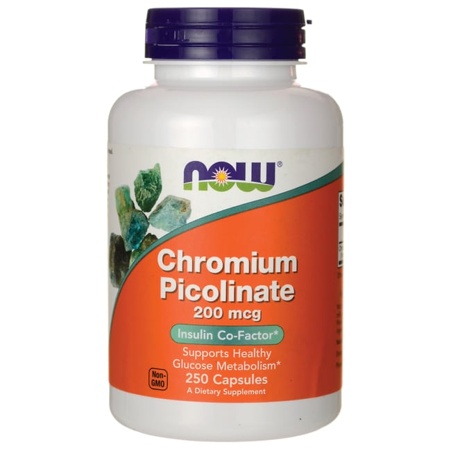 Chromium picolinate foods