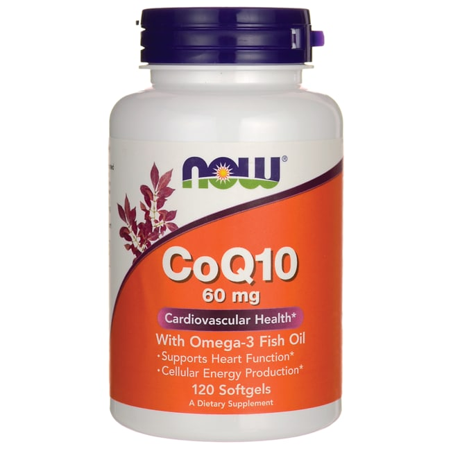 Now foods coq10 with omega 3 fish oil 120 sgels swanson for Coq10 vs fish oil