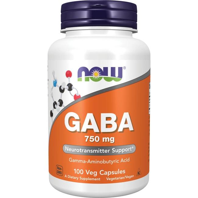 AHORA alimentos GABA 750 mg 100 Veg tapas Productos para tu Salud en Veo y Compro  + GABA en Veo y Compro