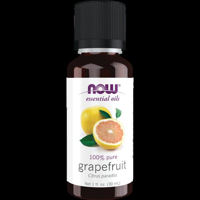NOW Foods Essential Oils Grapefruit 1 Fl Oz (30 ML) Liquid