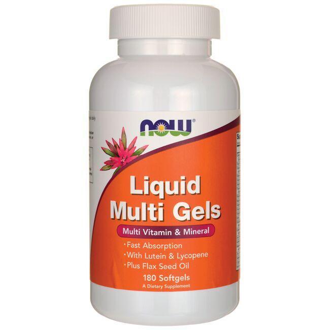 NOW FoodsLiquid Multi Gels
