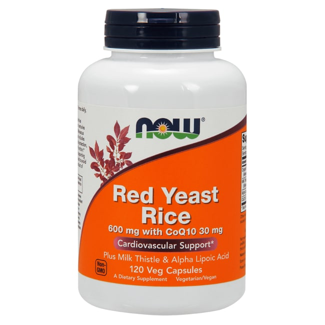 NOW Foods Red Yeast Rice with CoQ10