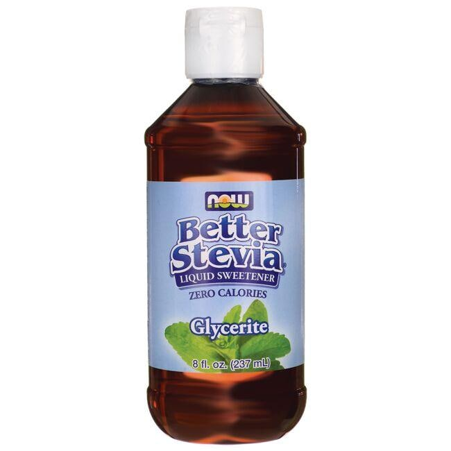 NOW FoodsBetter Stevia Liquid Sweetener - Glycerite